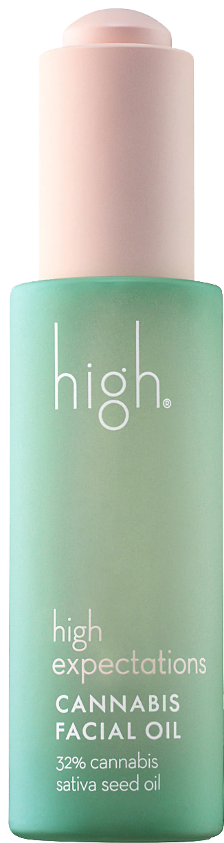 High Beauty High Expectations Cannabis Seed Facial Oil