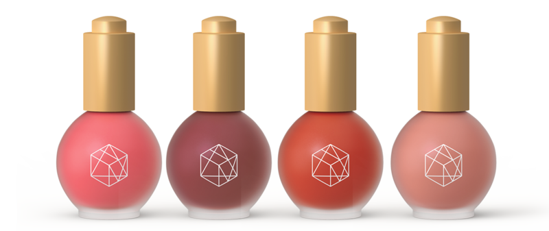 EM Cosmetics Color Drop Serum Blushes Bottle