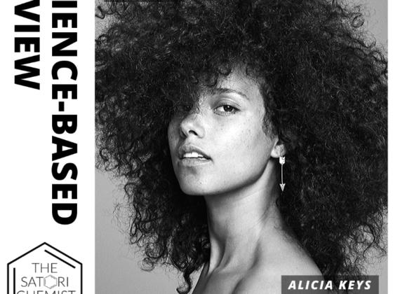 The Satori Chemist Alicia Keys BW Cover